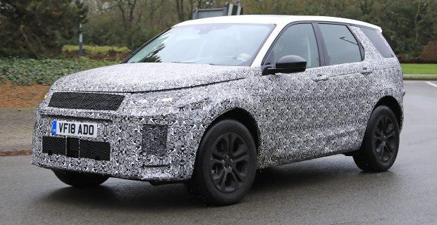 Land Rover Discovery Sport Erlkönig mit Facelift