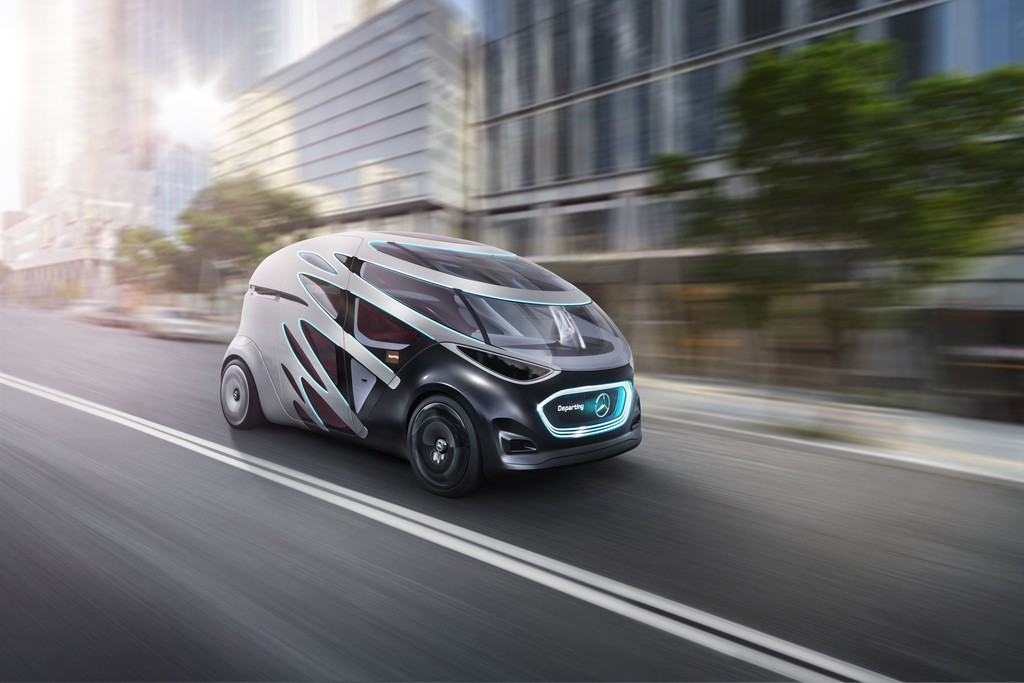 Mercedes-Benz Vision Urbanetic People-Mover-Modul.