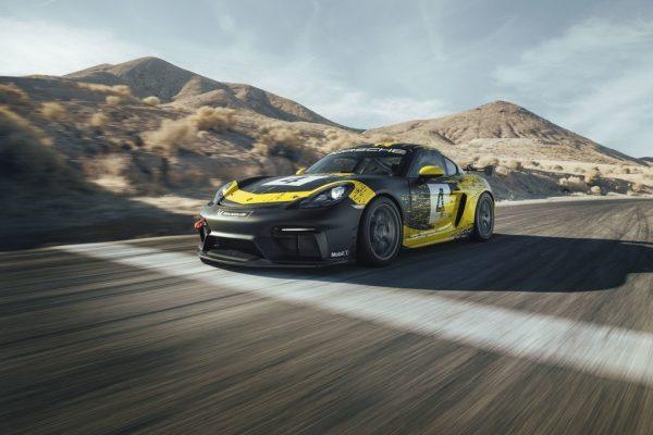 Porsche 718 Cayman GT4 Clubsport.
