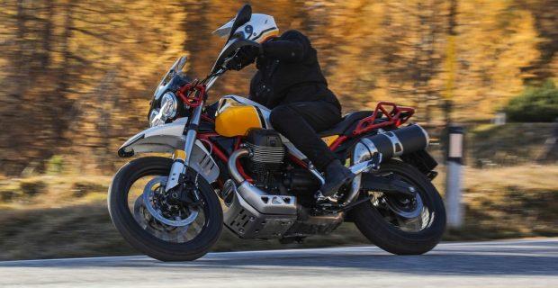 Moto Guzzi V85 TT.