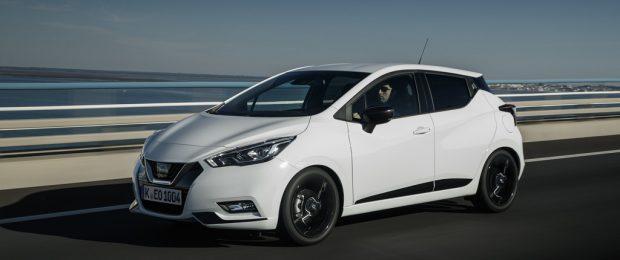 Nissan Micra N-Sport.