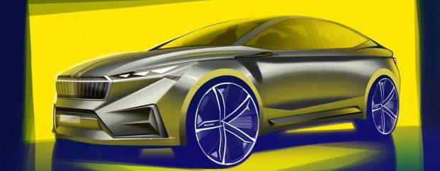 Skoda Vision iV ist Vorbote der Elektromobilität