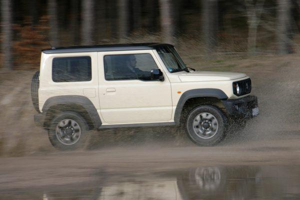 Fahrbericht Suzuki Jimny: Für Asphalt viel zu schade