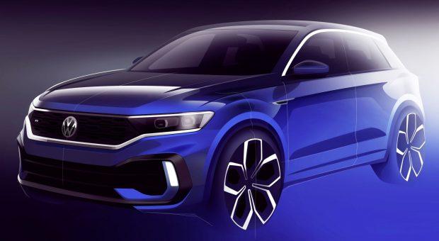 : Premiere für den Volkswagen T-Roc R